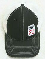 Richardson Baseball Hat Cap Poly Cotton Black Adult One Size Snapback Adjustable