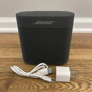 Bose Soundlink Color II Water-Resistant Portable Bluetooth Speaker BUNDLE TESTED
