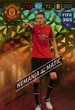 PANINI ADRENALYN XL FIFA 365 2018 LIMITED EDITION NEMANJA MATIC