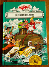 DIE SEESCHLACHT Buch 3 Römer Serie Hefte 21 - 24 Hannes Hegen Mosaik Digedags