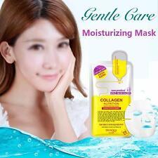 Korean Essence Facial Mask Sheet Moisture Whitening Face Mask Skin Care Green PX