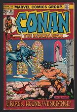 CONAN - LOT OF 5... #20, #22, #29, #30, #32, Marvel, 1972-73, AVG GRD FN+ TO VF