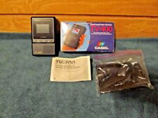 "Casio Tv-400 - 2"" Lcd - Pocket Color Television In Box With Instructions"