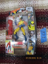 Y31_23 Marvel Legend Lot X MEN WOLVERINE YELLOW VARIANT Red Hulk BAF Series xmen
