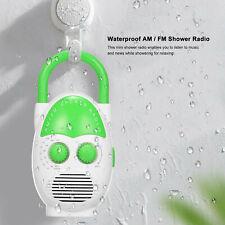 Mini AM / FM Radio Duschradio Badezimmer Wasserdichtes Hängendes Musikradio D2W6