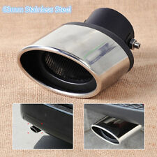 High Quality 63mm Silver Stainless Steel Car Auto Exhaust Muffler End Tail Pipe