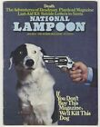 National Lampoon Jan 1973 VINTAGE HUMOR Buy This Magazine or We'll Kill this Dog