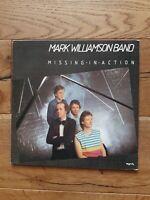 Mark Williamson Band – Missing In Action Myrrh – MYR 1154 Vinyl, LP, Album