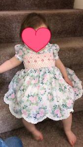 Girls Smocked Dress Brand New Multiple Sizes