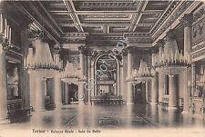 Cartolina Torino Palazzo Reale Sala da Ballo ed. Brunner