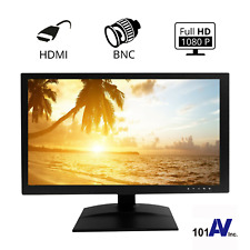 """18.5"""" HD Surveillance Security Monitor LED LCD HDMI Looping BNC In/Output"""
