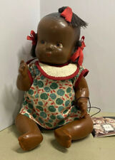 vintage 9� composition black americana topsy pigtail doll ca1930 Mint Original