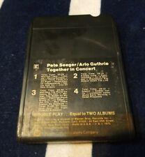 8track Tape Cartridge Pete Seeger arlo guthrie