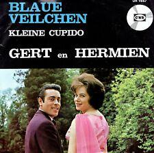 7inch GERT EN HERMIENblaue veilchenHOLLAND 1966 EX+ (S3098)