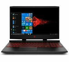 HP OMEN 15 Gaming Laptop Intel i5-9th 12GB RAM 1TB HD 128GB SSD GTX 1650 Black