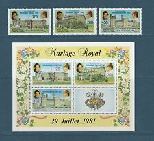 Comores république  naissance William   Diana   1982  poste et BF **