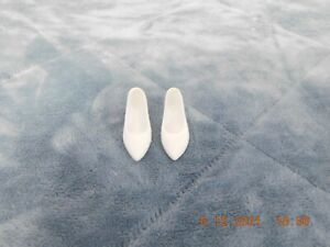 Franklin Mint Princess Diana White Shoes For White Lace Gown For Vinyl  Doll