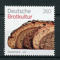 Germany 2018 MNH Traditional Bread Culture 1v Set Gastronomy Traditions Stamps