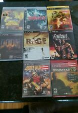 8 game ps3 lot new and used