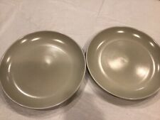 "222 Fifth Cobblestone Dinner Plate - Gray 10 7/8"" Lot Of 2"