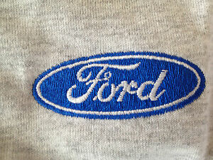 Ford Custom Embroidered Medium 50% Cotton 50% Polyester Unisex T-Shirt New
