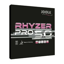 Joola Rhyzer 50 Pro Rubber max+ Table Tennis Rubber 1 pair (Red/Black)