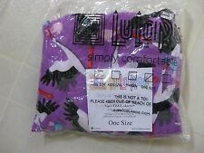 LuLaRoe OS Stork Leggings / Boy or Girl / Purple Background / BNWT BNIP