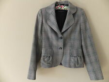 Aquascutum Button Wool Checked Coats & Jackets for Women