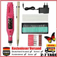 Elektrische Mini Gravurstift Gravierstift Graviergerät für Schmuck DIY Tool Set