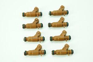 MERCEDES E500 E430 G500 R500 S350 Fuel Injection Injectors Set of 8 1130780249