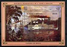 Sao Tome und Principe 1984 ** postfrisch Block 153 Queen of the West BR127