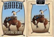 1 Deck Bicycle Rodeo Cowboy Standard Poker Playing Cards New Box
