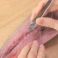 1Pc Stainless Steel Fish Bone Remover Tweezers Pincers Pluckers Tongs