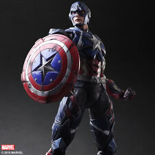 MARVEL UNIVERSE: CAPTAIN AMERICA PLAY ARTS KAI Action Figure SQUARE ENIX