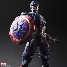 Square Enix Marvel Comics Variant Action Figure Captain America PVC 27 cm