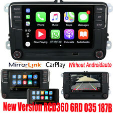 "6.5"" Autoradio RCD360 Carplay 187B BT Pour VW Golf 5 6 Polo Tiguan Passat Jetta"