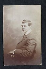 C1920's Portrait Photo of a Young Man, Sitting.