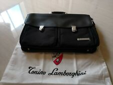 Brand New Tonino Lamborghini Leather Briefcase Office Bag Hand Carry / Sling