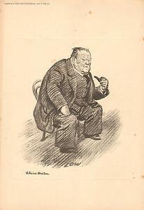 1926 Nuevo Statesman Estampado ~ Hilaire Belloc ~ Bajo