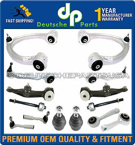 Mercedes W215 CL CLASS Control Arm Arms Ball Joint Tie Rods Sway Bar Link Kit 14