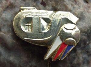 Czech Lawn Tennis Association CTS Members Players Membership Gold Pin Badge