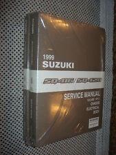 1999 SUZUKI SQ416 SQ420 SERVICE MANUAL SET SHOP BOOKS