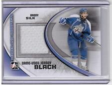 BRODY SILK 11/12 ITG Prospects Update Set Game-Used Jersey Rookie M-53