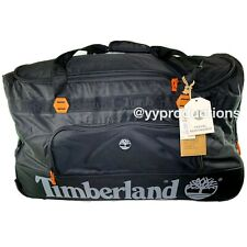 Black Timberland XLarge High Capacity Duffle Travel Roller Bag  - Fast Shipping
