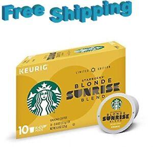 Starbucks Blonde Sunrise Blend Coffee Keurig k-cups