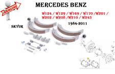 MERCEDES W124 W129 W169 W170 W201 W202 W208 W210 Parking Brake Shoe Set GENUINE