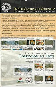 Venezuela: 2010; Scott 1711, mini sheet and singles + Brochure, MNH  VZ0123