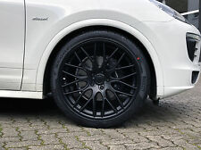 Sommerräder  22 Zoll Porsche Cayenne S Turbo GTS  Hankook 295/30 R22 Black