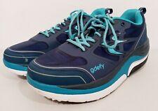 GDEFY Gravity Defyer Mighty Walking Shoes Men's Size 11.5 Blue/Black