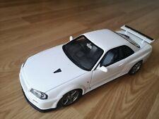 Autoart 1:18 Diecast Nissan Skyline R34 GT-R V-Spec II - White